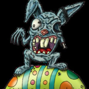 Download from - Deviant Art - Zombie Rabbit