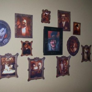 Haunted Portrait Wall