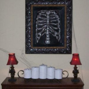 Funeral Parlor Wall