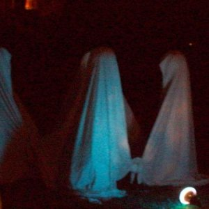 Close-up of the ghosts...