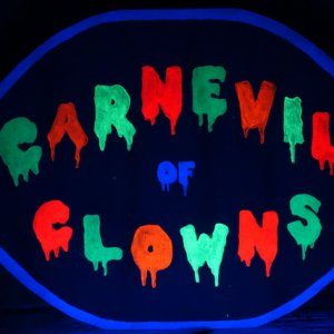 Carnival of Clown UV Lighted