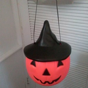 Vintage witch ToT pail