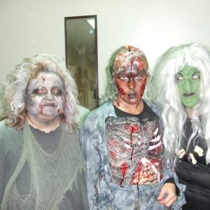 undead - Deb, oven victim, and voodoo witch