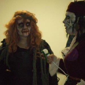 Zombie - Nancy and Me the dead pirate