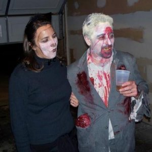 Keera and Zombie Tom