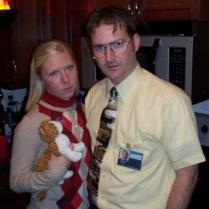 Dwight and Angela