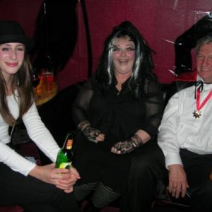 Alex from a Clockwork Orange, Lily Munster and Grandpa Munster