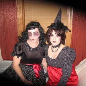My doll & me halloween night