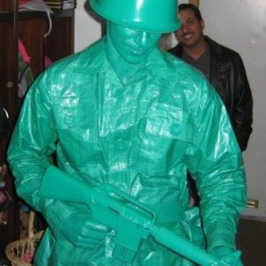 Another shot of the Green Army Man.