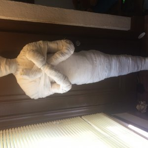 Diy mummy was my first project this year