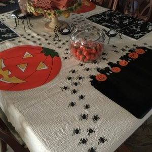 homemade tablecloth