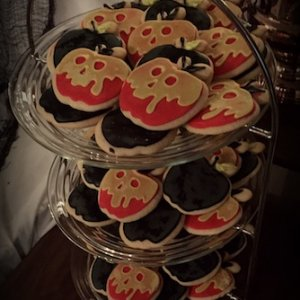 Poison Apple Cookies
