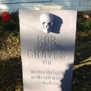 Here lies Rob Graves