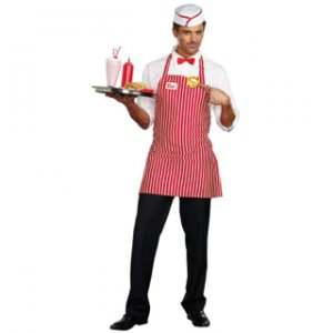 BuyCostumes, 2015. DinerDude costume for my carnival concession stand worker.