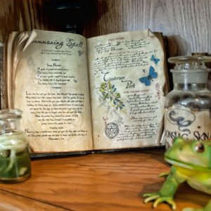 Spells and brews book