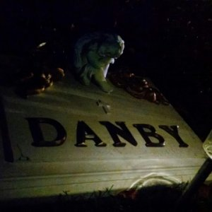 Our Little Danby at night