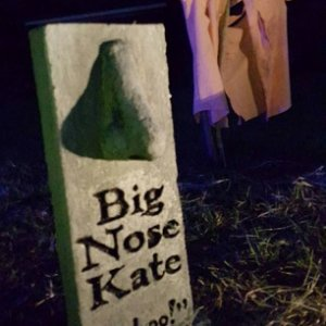 Big Nose Kate headstone