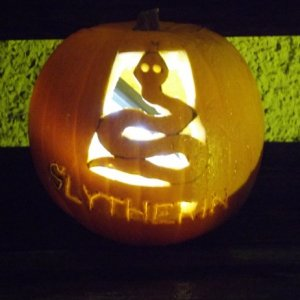 slytherin pumpkin