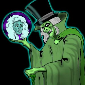 Hatbox Ghost and Leota