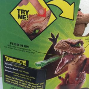 Dinosaur theme prop ideas.  You can encourage the kids to feed him.
