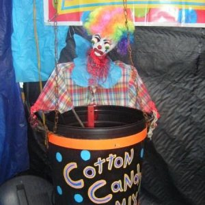 Good clowns have their uses....like as additives in the Cotton Candy... lol