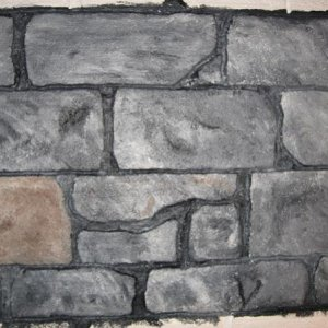 dungon walls3 test painting
