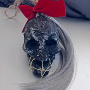 ShrunkenHead. New hanging ornament.