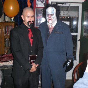 Halloween Party 2009, with Anton Lavey !