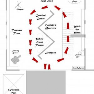 Dead Mans Cove 2010 layout Plan B - new and improved (easier to manage)