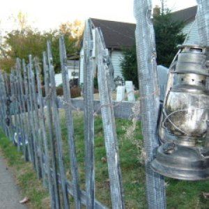 Fence With Lantern