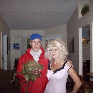 Seymour and Audry costumes for Little Shop of Horrors