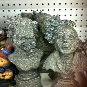 CVS, 2010. Small busts.