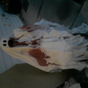 My bloody ghost