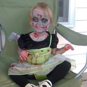 My zombie Tink from 2009