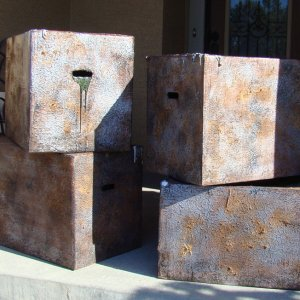 Metal Boxes made of Cardboard
