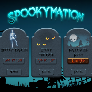 Spookymation Browse Screen