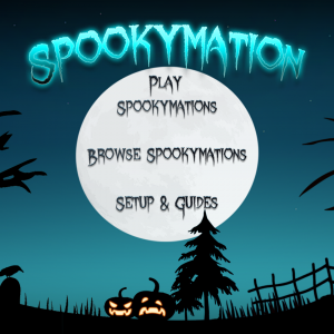 Spokymation Home Screen