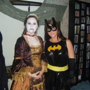 Anne Bolelyn, just not alive..oh and batgirl LOL