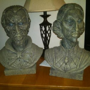 Talking busts from Sam's Club