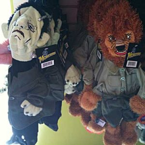 Build-a-bear-esque monsters. Maybe Dr. Frankenstien shoulda gone this route.