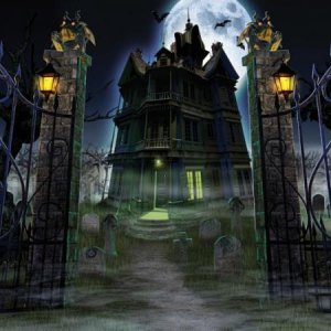 34271 haunted house screen saver