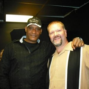 Tony Todd and myself, 2008