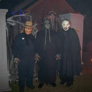 Myself and some of the helpers from Halloween 2008
