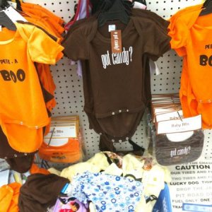 99¢ ONLY STORE, 2010. Infant wear and bibs.