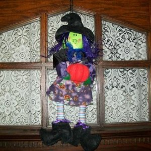 Dollar Tree witch that I got in 2010.