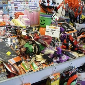 The 2010 Halloween range of decorations, costumes and costume accessories at Browse In (an Australian discount store).