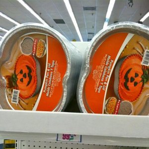99¢ ONLY STORES, 2010. Pumpkin bake pan and cover.