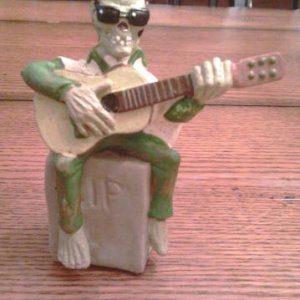 guitar ghoul had to get him for my older son who plays guitar. another yardsale find