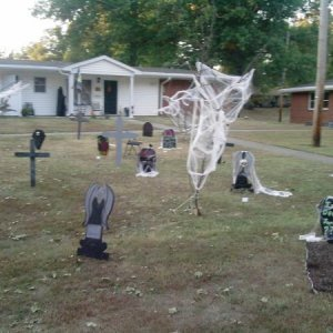first half of our graveyard