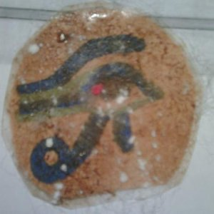 mummy eye of horus amulet